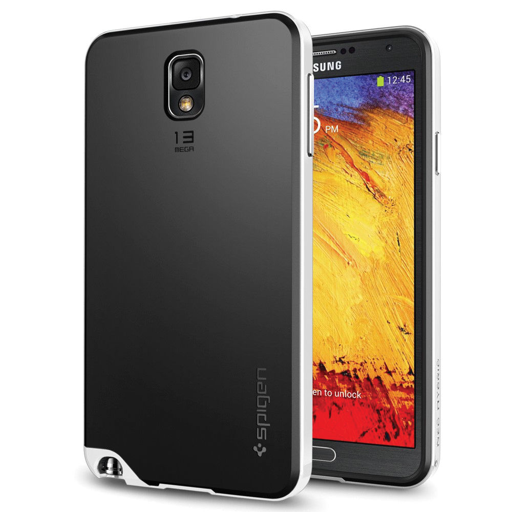 separation shoes beb82 2867f Spigen Neo Hybrid Case for Samsung Galaxy Note 3 (Infinity White)