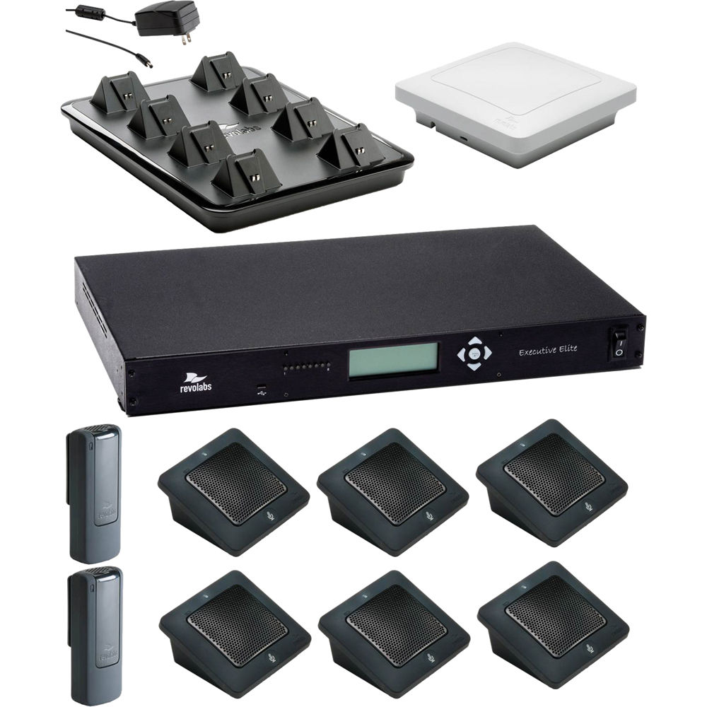 Office Revolabs Executive Elite Tabletop Wireless Conference ...