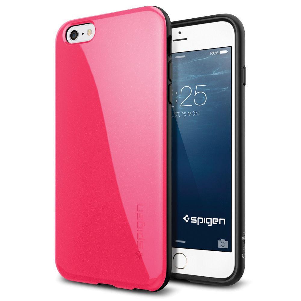 quality design e248b c43c2 Spigen Capella iPhone 6 Plus Case (Azalea Pink)