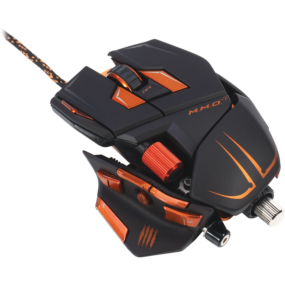 Mad Catz M M O  7 Gaming Mouse for PC and Mac (Black)