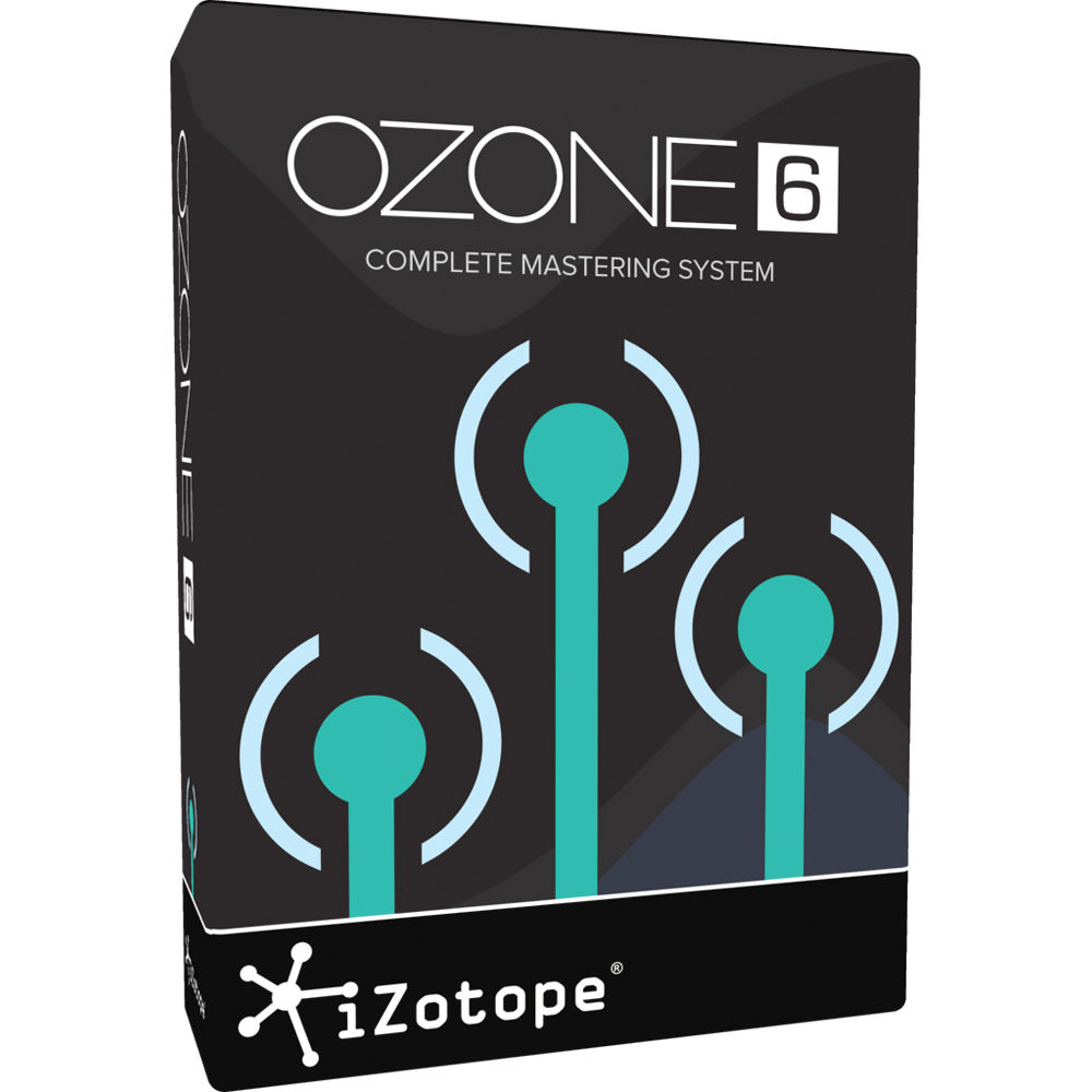 iZotope Ozone 6 - Mastering Software (Download)