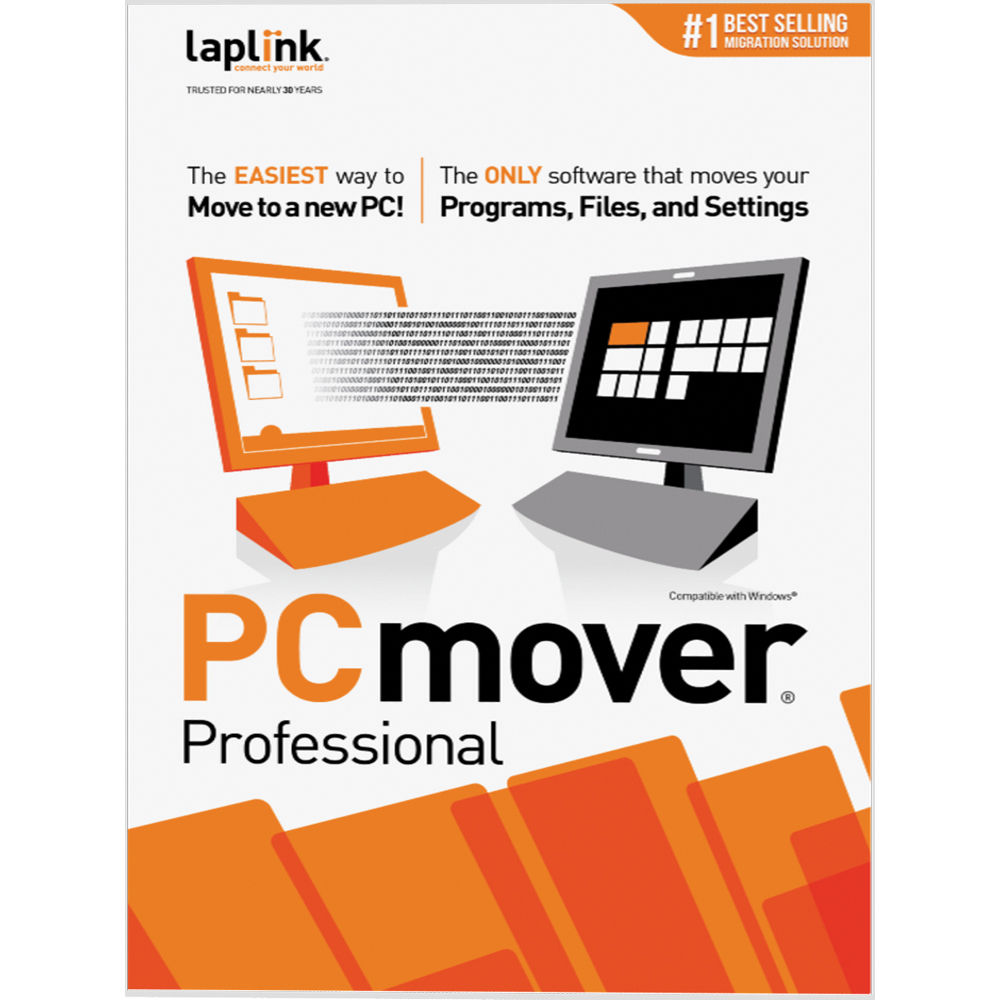 Laplink PCmover Professional (1 Use, Download)