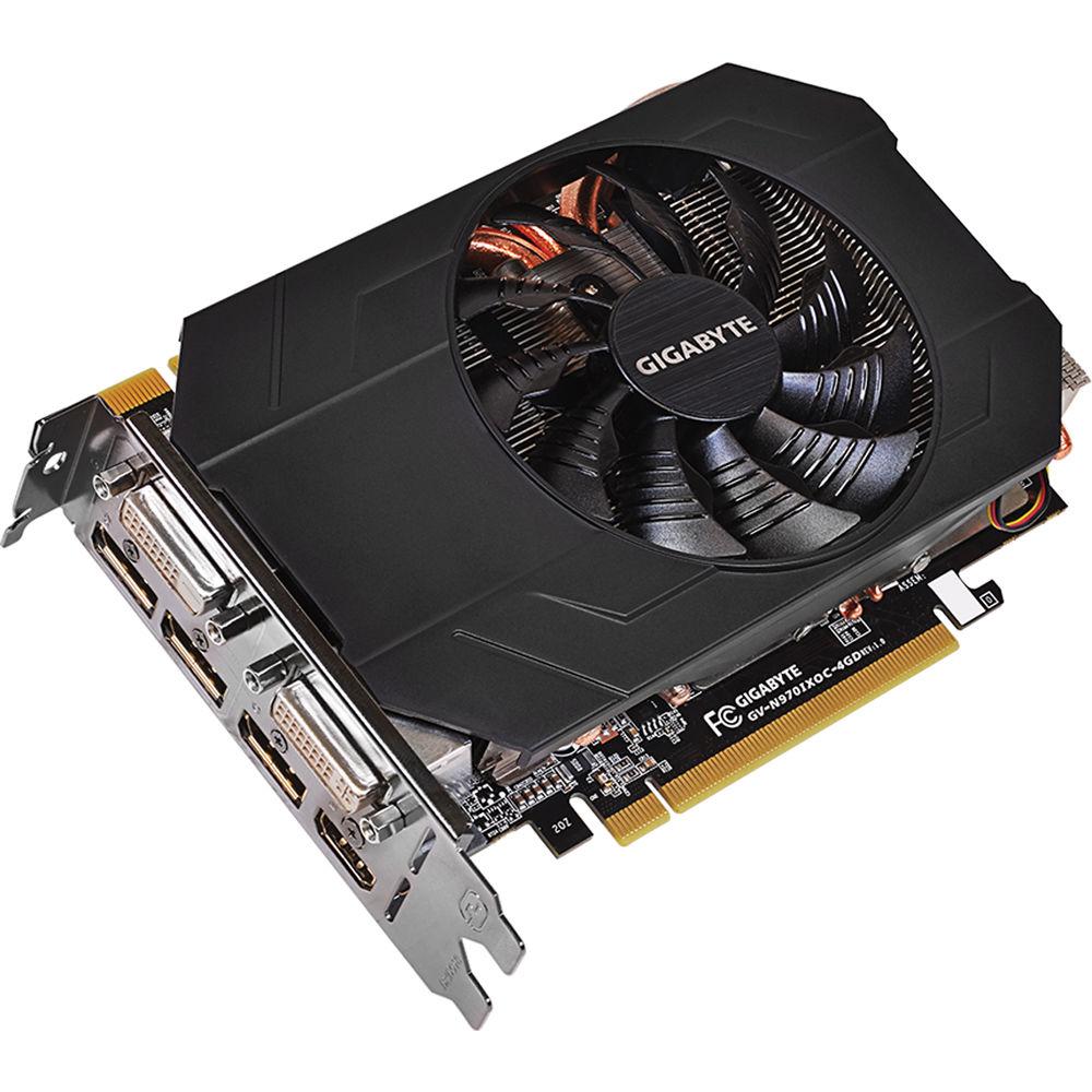 Gigabyte GeForce GTX 970 Mini ITX Graphics Card (4GB GDDR5)