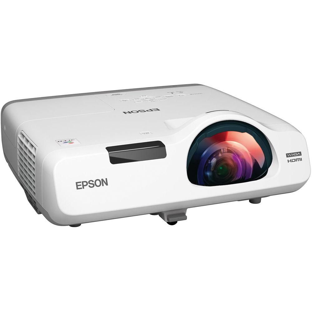 Epson PowerLite 525W 3LCD Short Throw Projector V11H672020 B&H