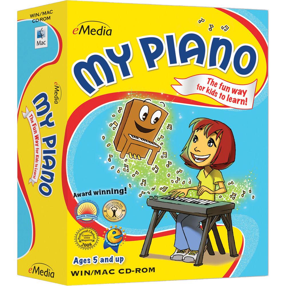 eMedia Music My Piano - Child Piano Lessons EK12097DLW B&H Photo
