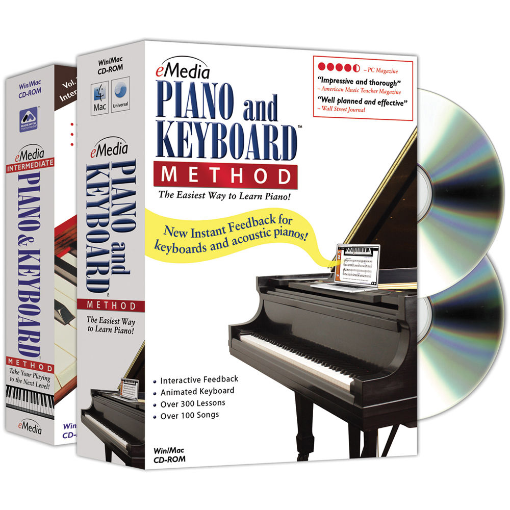 eMedia Music Piano and Keyboard Method Deluxe EK02131DLW B&H
