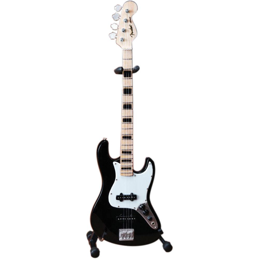 Axe Heaven Fender Jazz Bass Miniature Guitar Licensed Black FJ-003