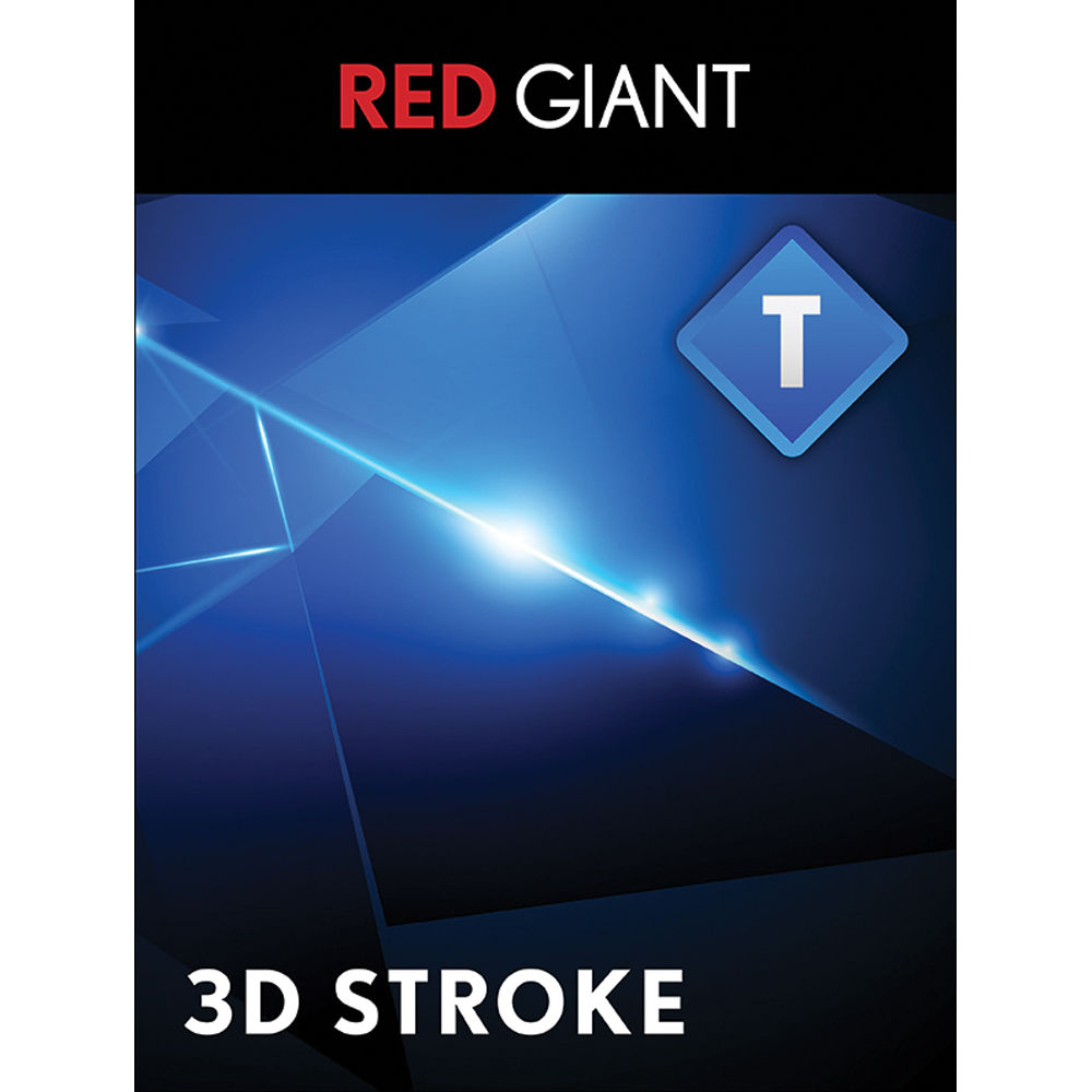 Red Giant Trapcode 3D Stroke - Upgrade (Download)