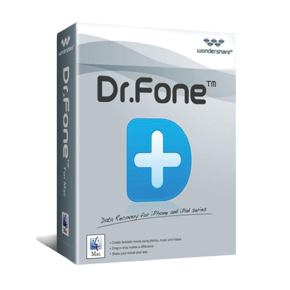Wondershare Dr Fone for iOS for Mac (Download)