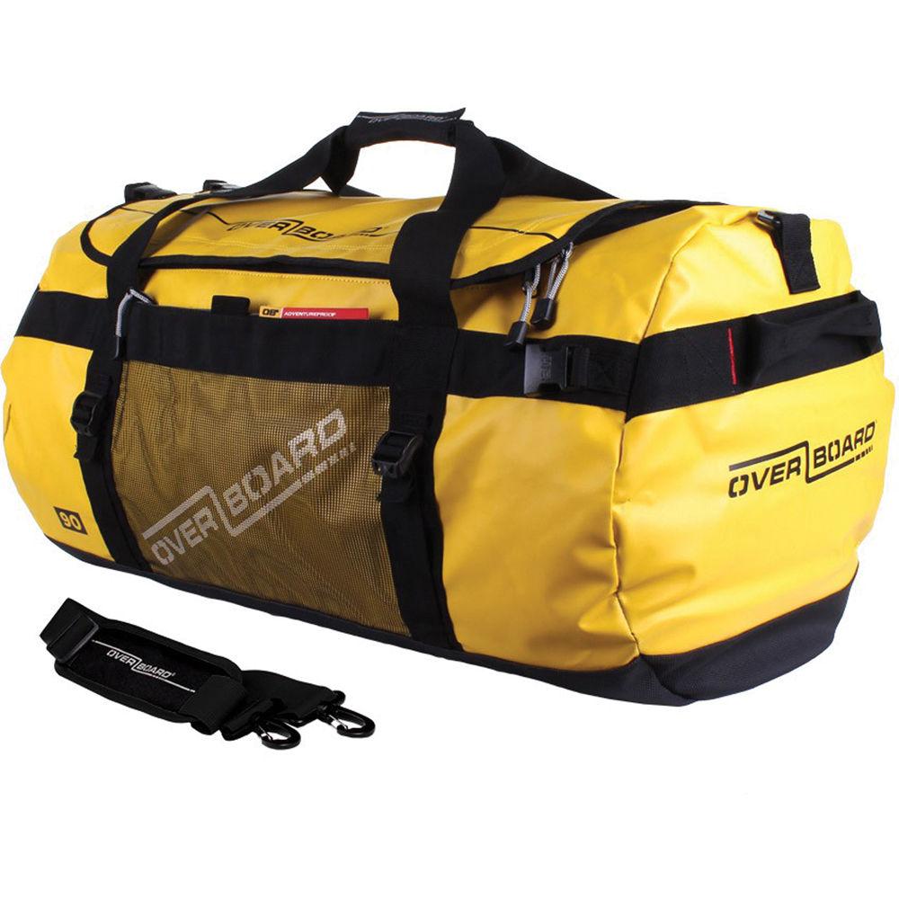 Overboard Adventure Duffel Bag Yellow 90l