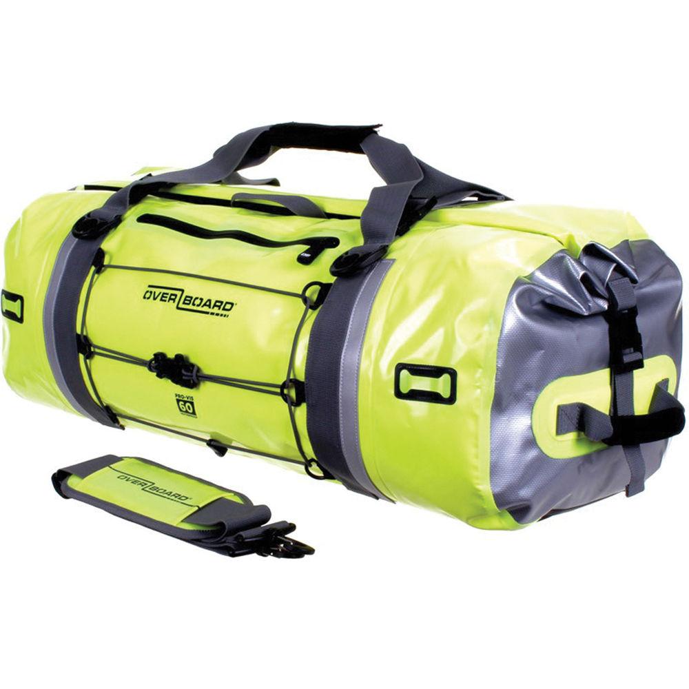 Waterproof Duffle Bags >> Overboard Pro Vis Waterproof Duffel Bag 60l High Visibility Yellow