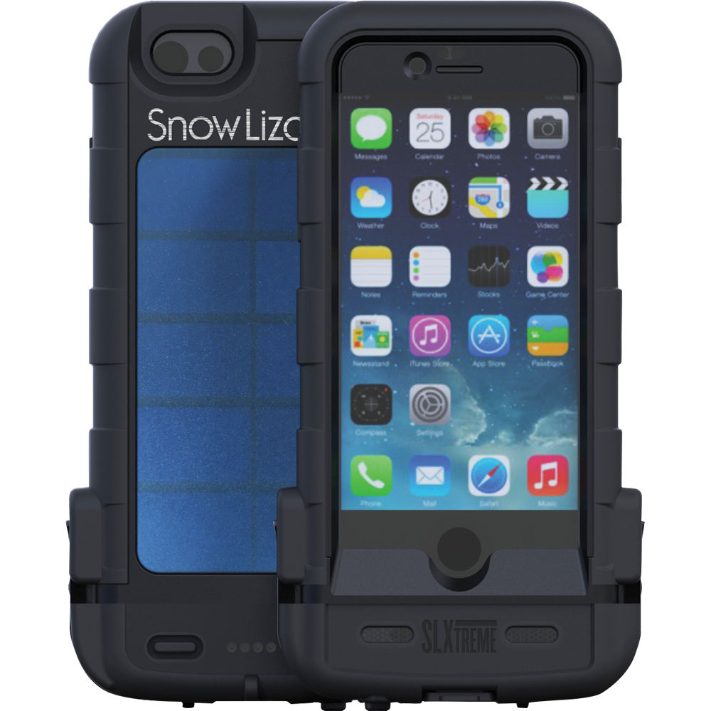 super popular 85dab 95945 Snow Lizard SLXtreme 6 Rugged Battery Case for iPhone 6 (Black)