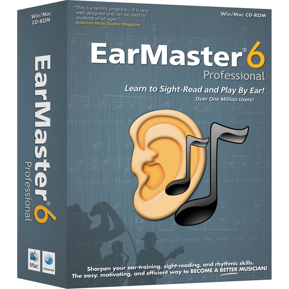 EarMaster Pro 6 - Sight-Singing and Ear Training Software (Download,  Educational Version, 30 Station Lab)