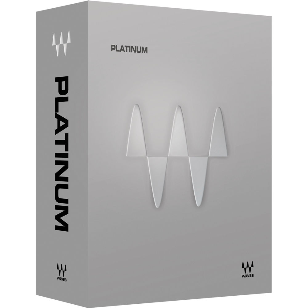 Waves Platinum - Mixing, Mastering, Sound Design Plug-Ins Bundle  (TDM/Native/SoundGrid, Download)