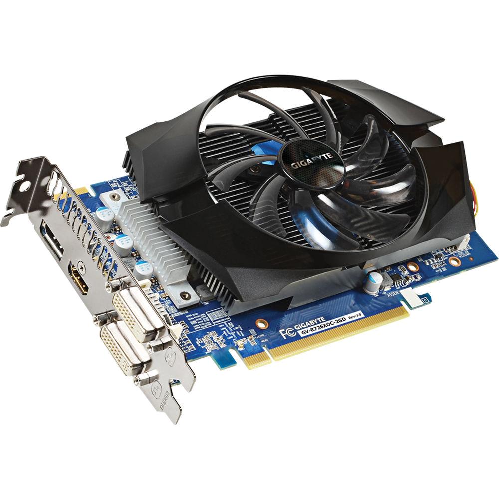 Gigabyte Radeon R7 260X Overclocked Graphics Card