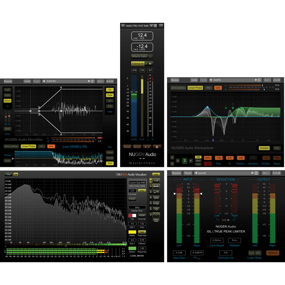 NuGen Audio Master Pack - Mastering Software Tools 11-33162 B&H