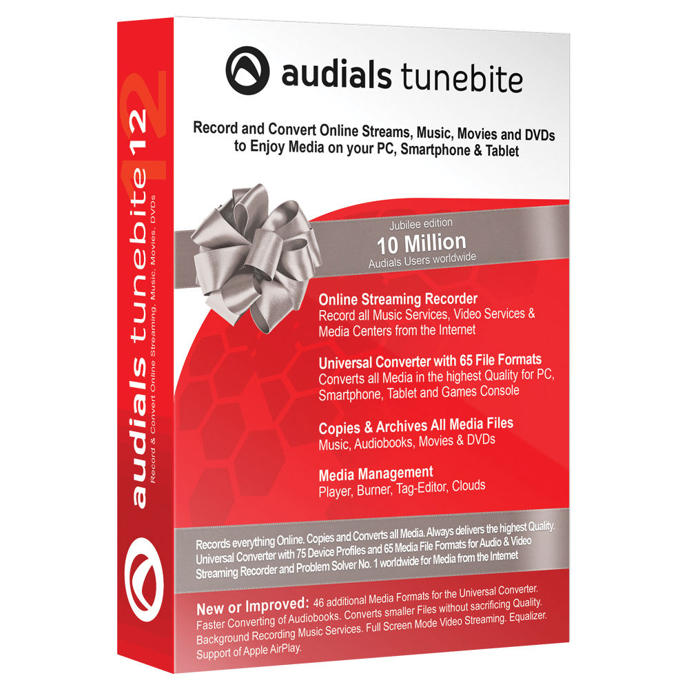 Audials USA Tunebite 12 Platinum (Download)