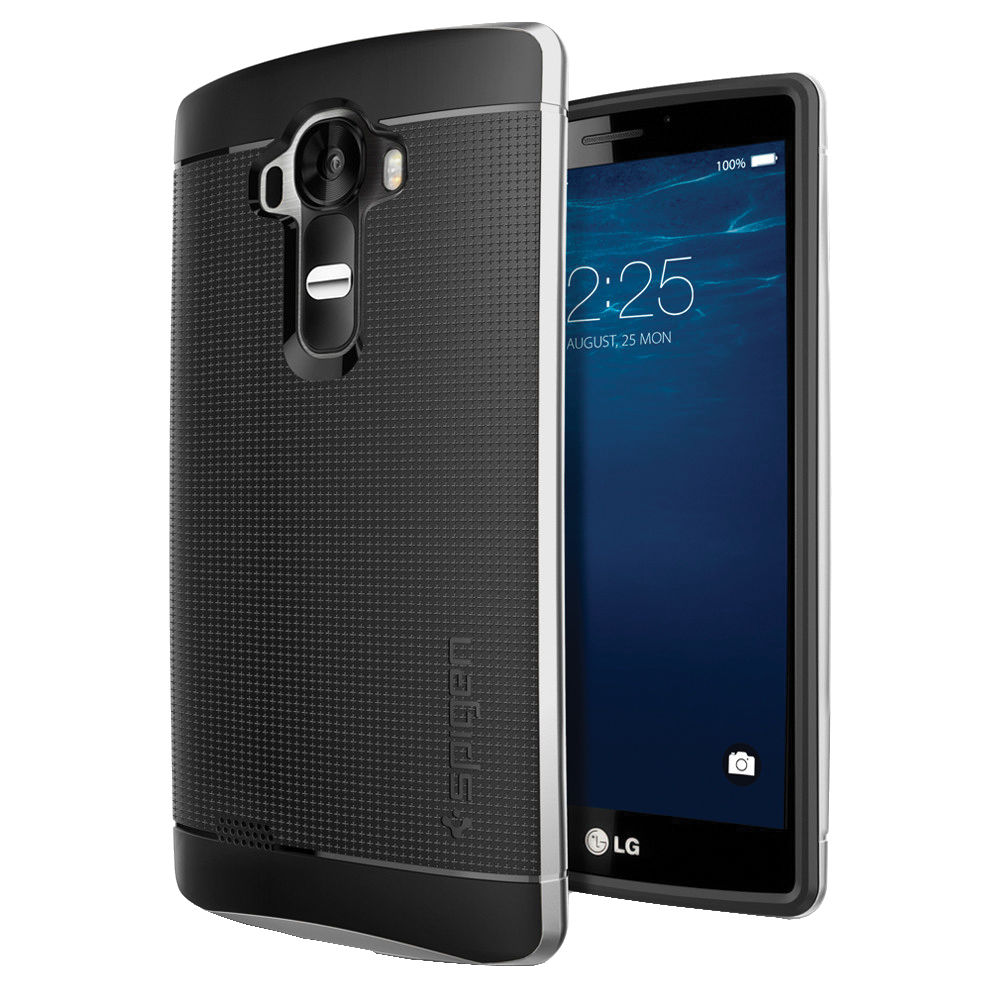 Spigen Neo Hybrid Case for LG G4 (Satin Silver)