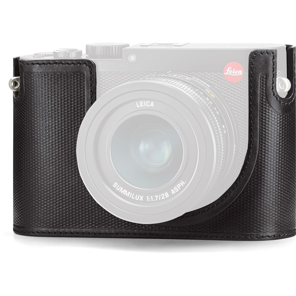 Leica Q Protector For Q Digital Camera Leather Black 19501