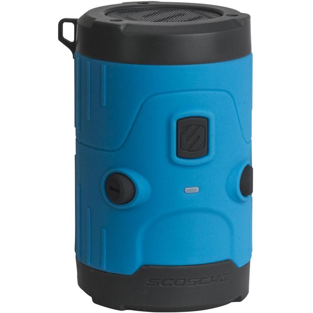 Gray Scosche boomBOTTLE H2O Bluetooth Wireless Speaker