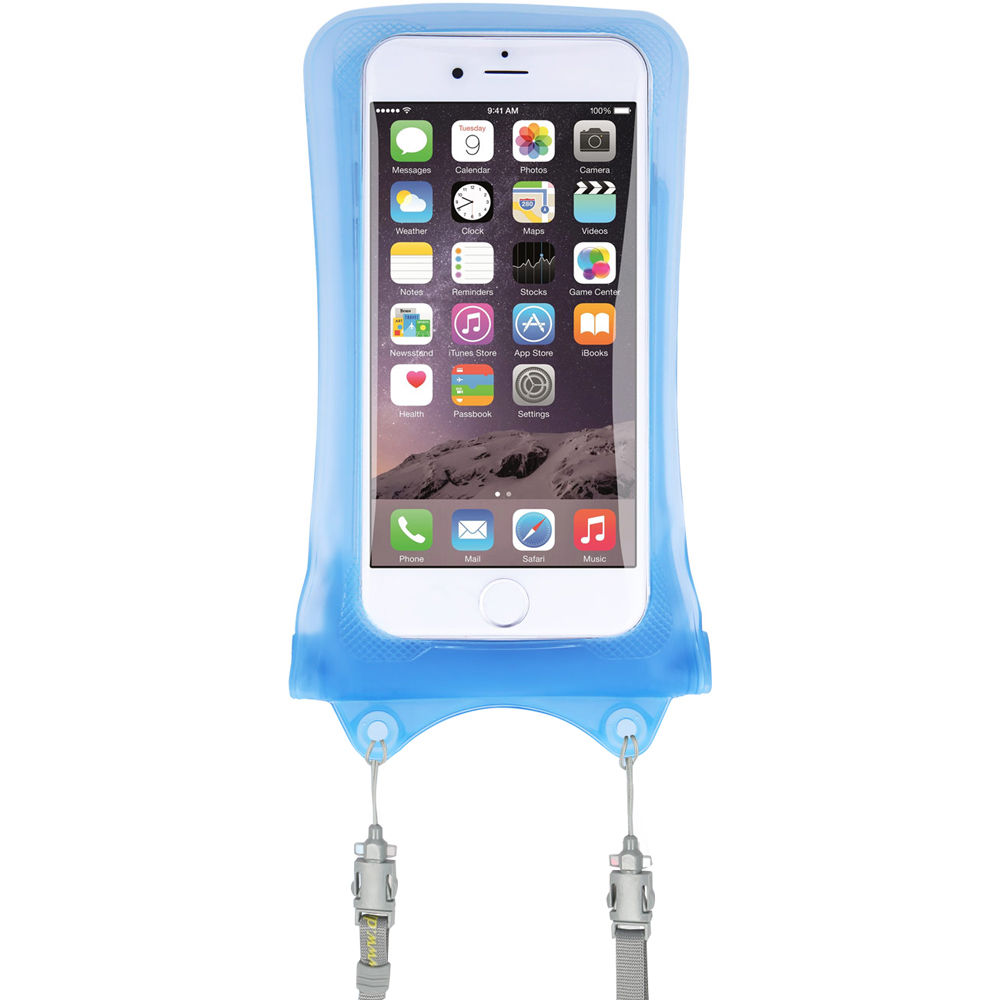 sale retailer 33dce f65e7 DiCAPac WPI10 Waterproof Case for iPhone (Sky Blue)