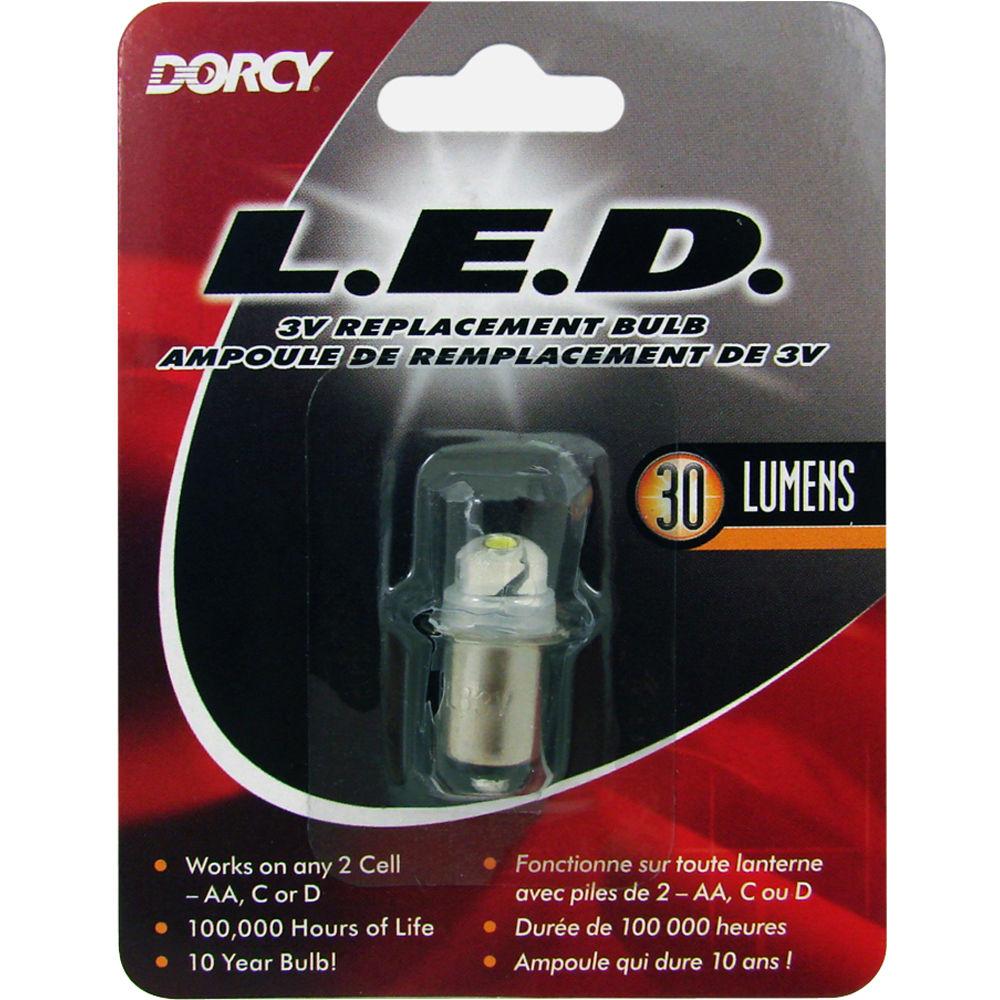 Dorcy 30 Lumen 3V LED Replacement Bulb