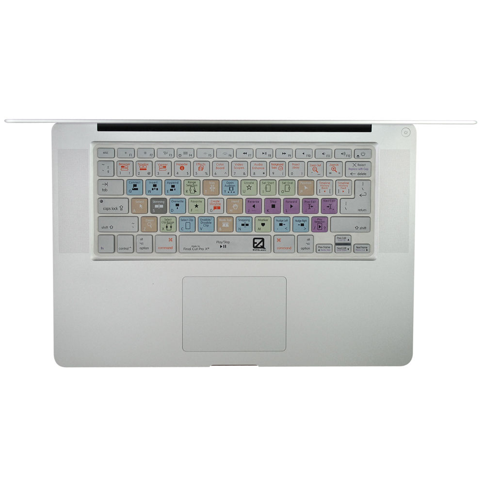 competitive price 868e9 c168d EZQuest Apple Final Cut Pro X Keyboard Cover for MacBook, X22402