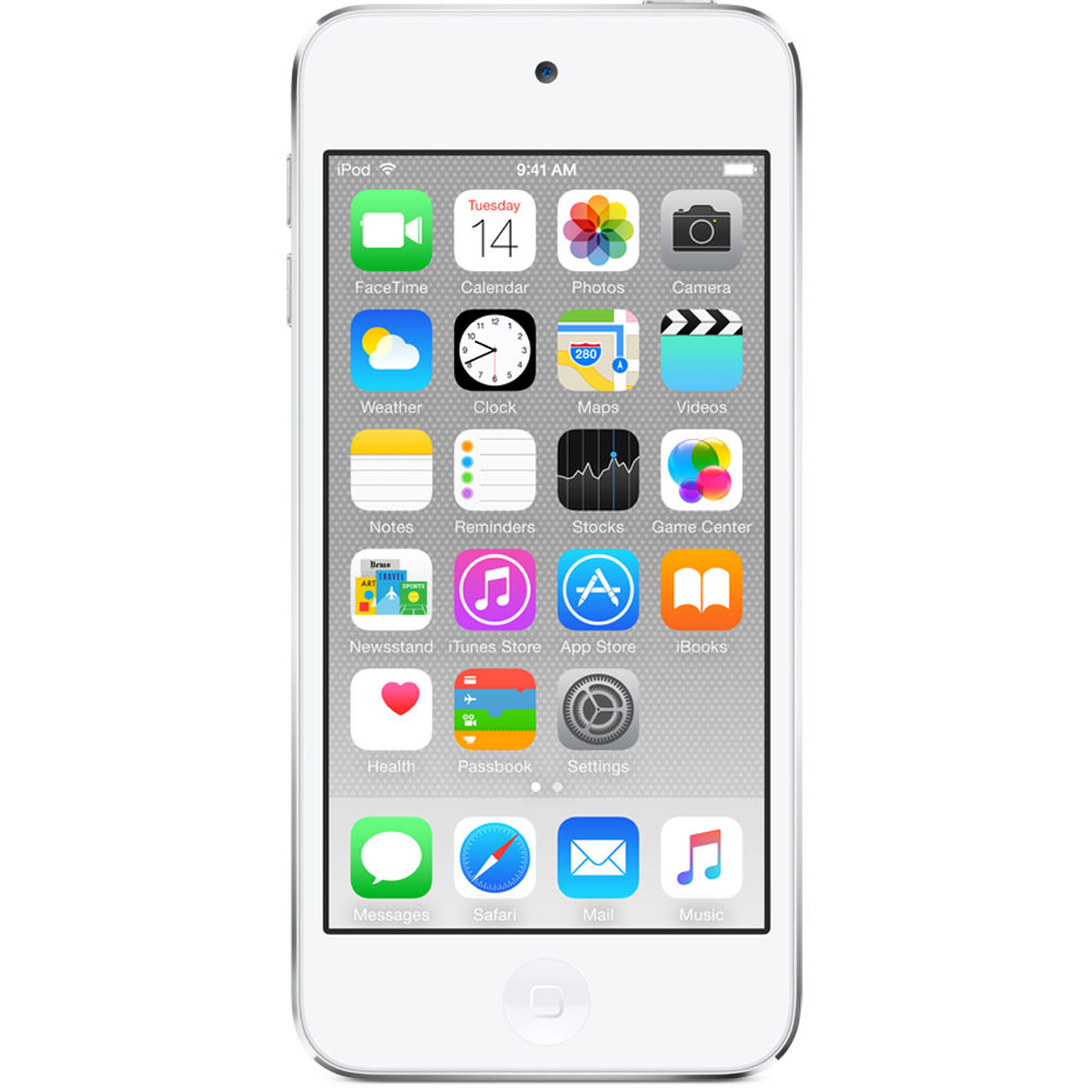 Apple 32GB iPod touch (6th Generation, Silver)