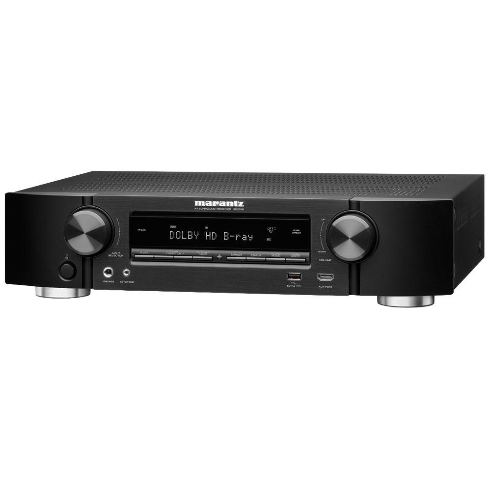 Marantz NR1506 5 2-Channel Slim Network AV Receiver