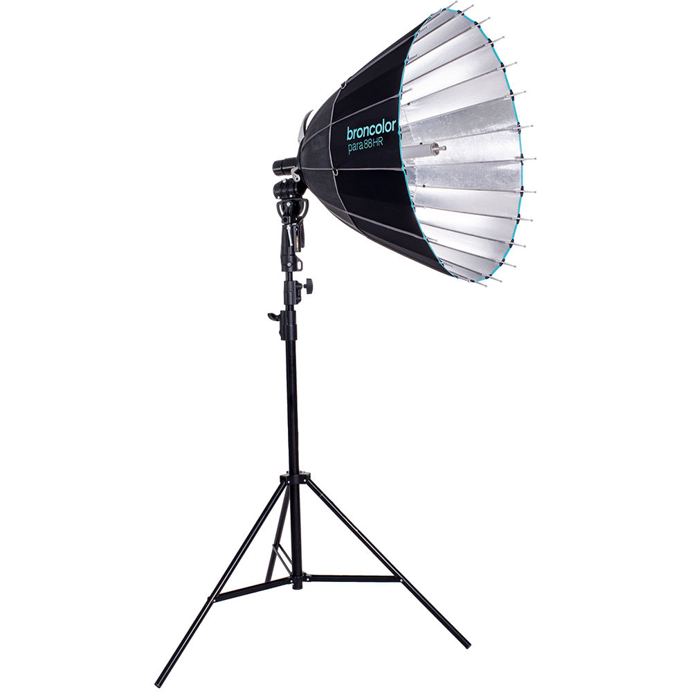 Includes F177 Focusing Tube Broncolor para 177 F Reflector Kit Without Adapter Trolley Bag Safety Rope 4X Suspension Ropes