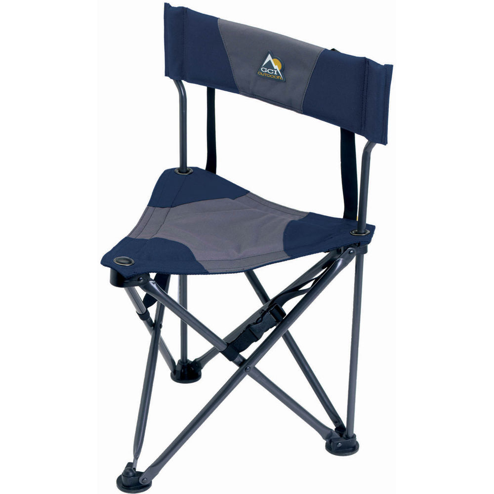 Fantastic Gci Outdoor Quik E Seat Stool With Padded Backrest Midnight Unemploymentrelief Wooden Chair Designs For Living Room Unemploymentrelieforg