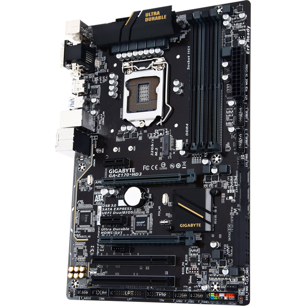Gigabyte GA-Z170-HD3 Motherboard (rev  1 0)