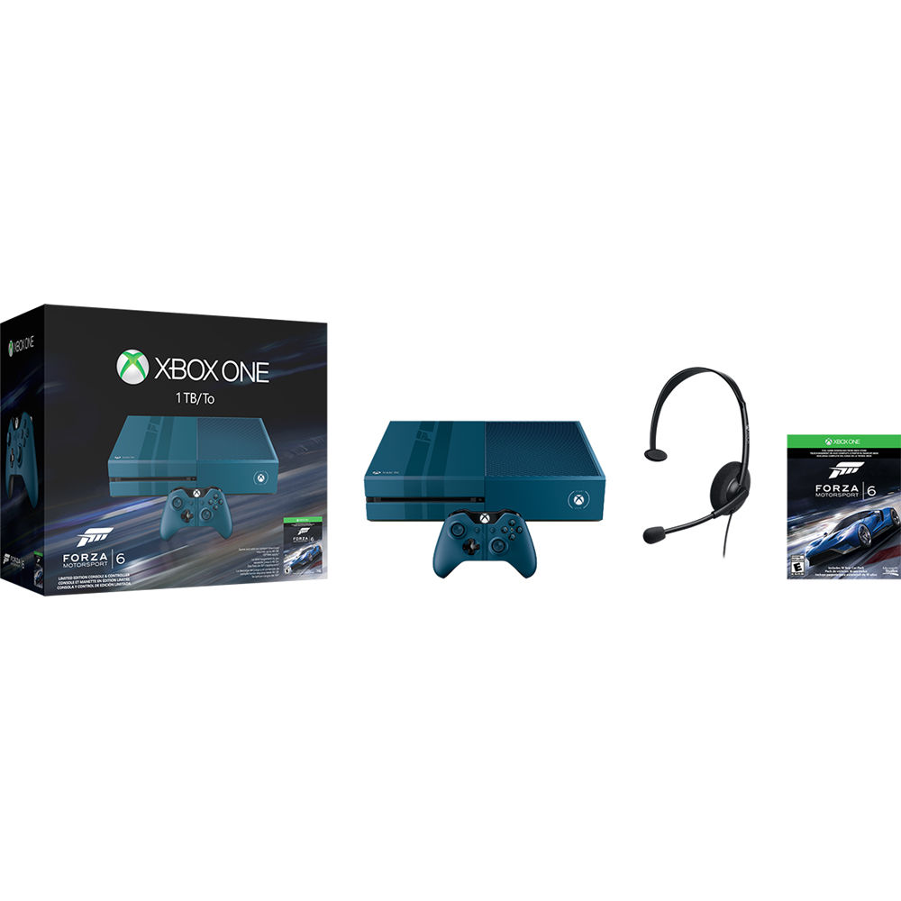 Microsoft Xbox One Limited Edition Forza Motorsport 6 Bundle (Kinect Not  Included)