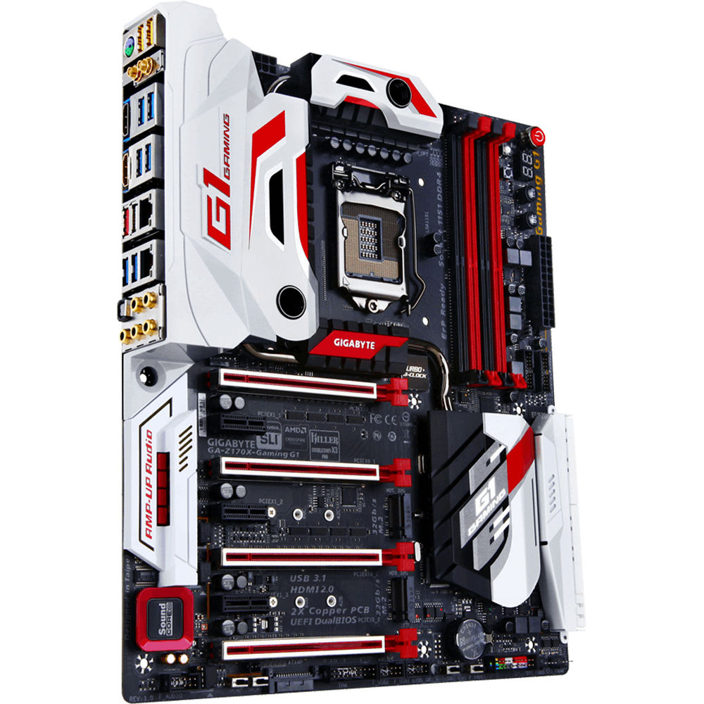 Gigabyte GA-Z170X-Gaming G1 Extended ATX Motherboard