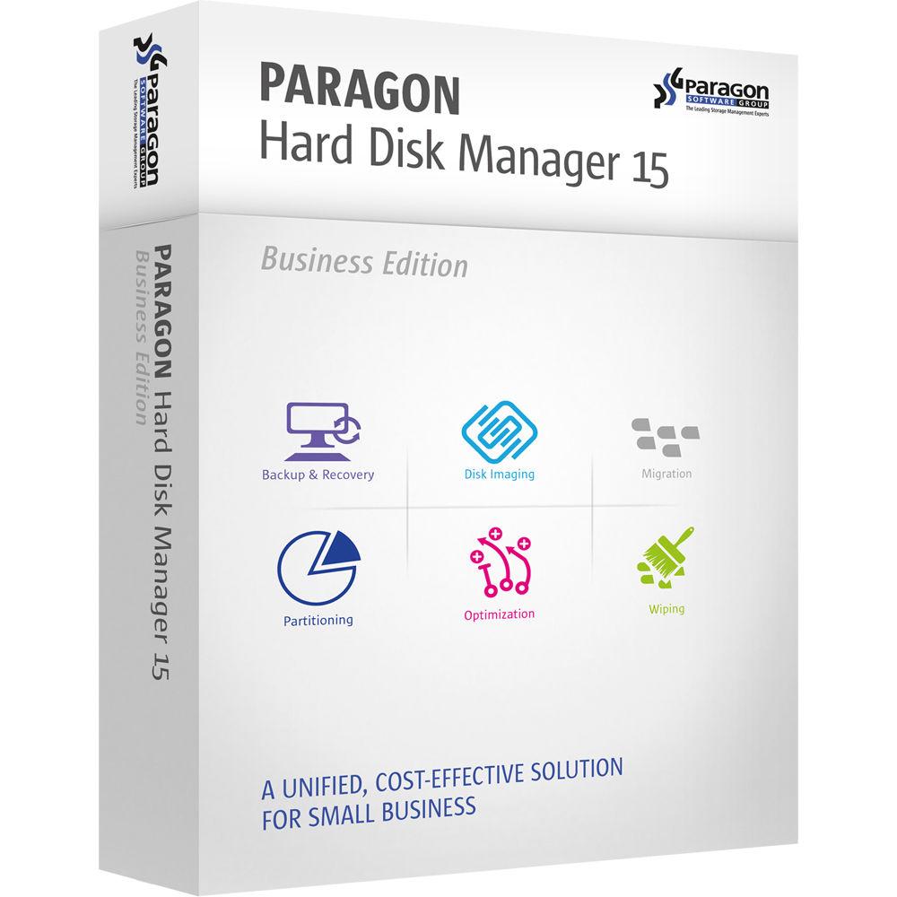 Paragon Hard Disk Manager 15 Business (Download)