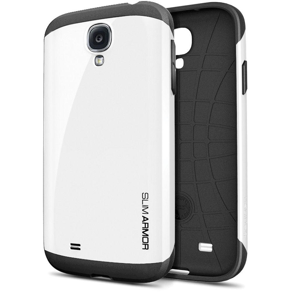 pretty nice c0608 8cd5c Spigen Slim Armor Case for Galaxy S4 (Infinity White, Retail Packaging)