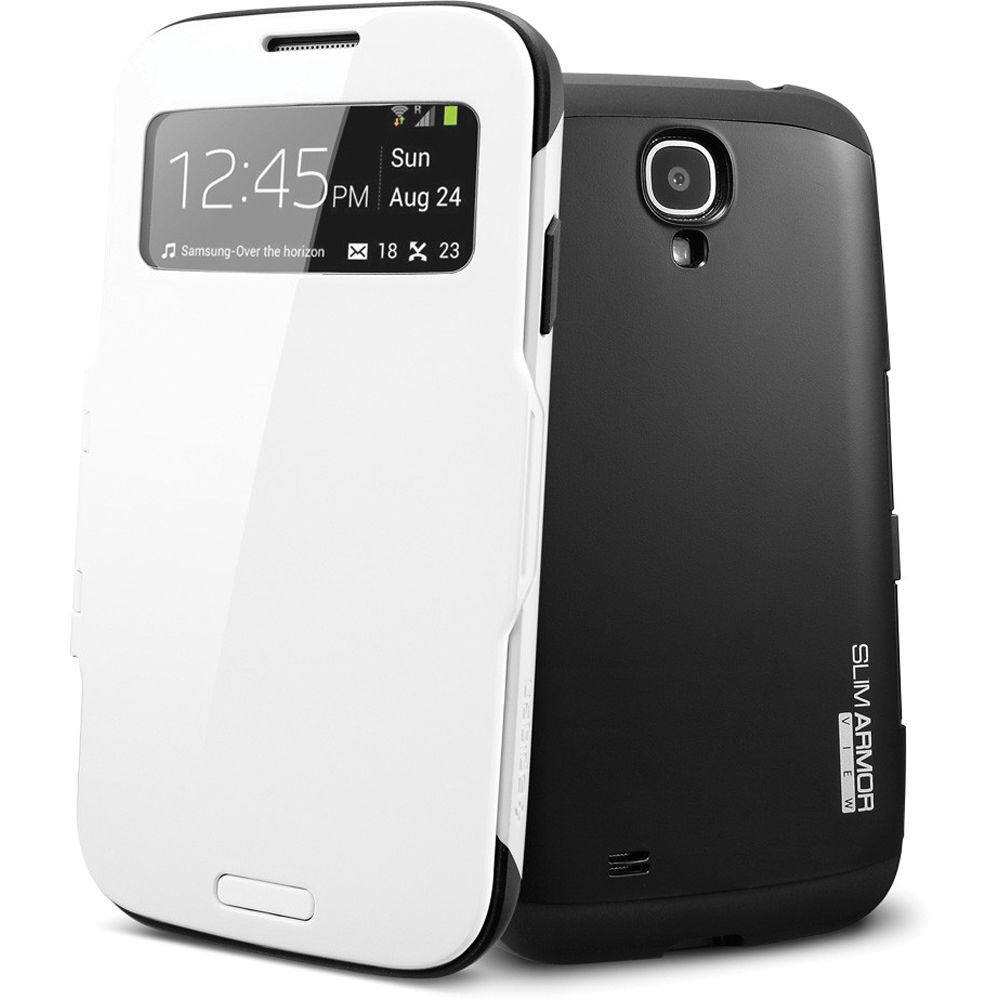 wholesale dealer a2aa8 d2fe7 Spigen Slim Armor View Case for Galaxy S4 (Infinity White)