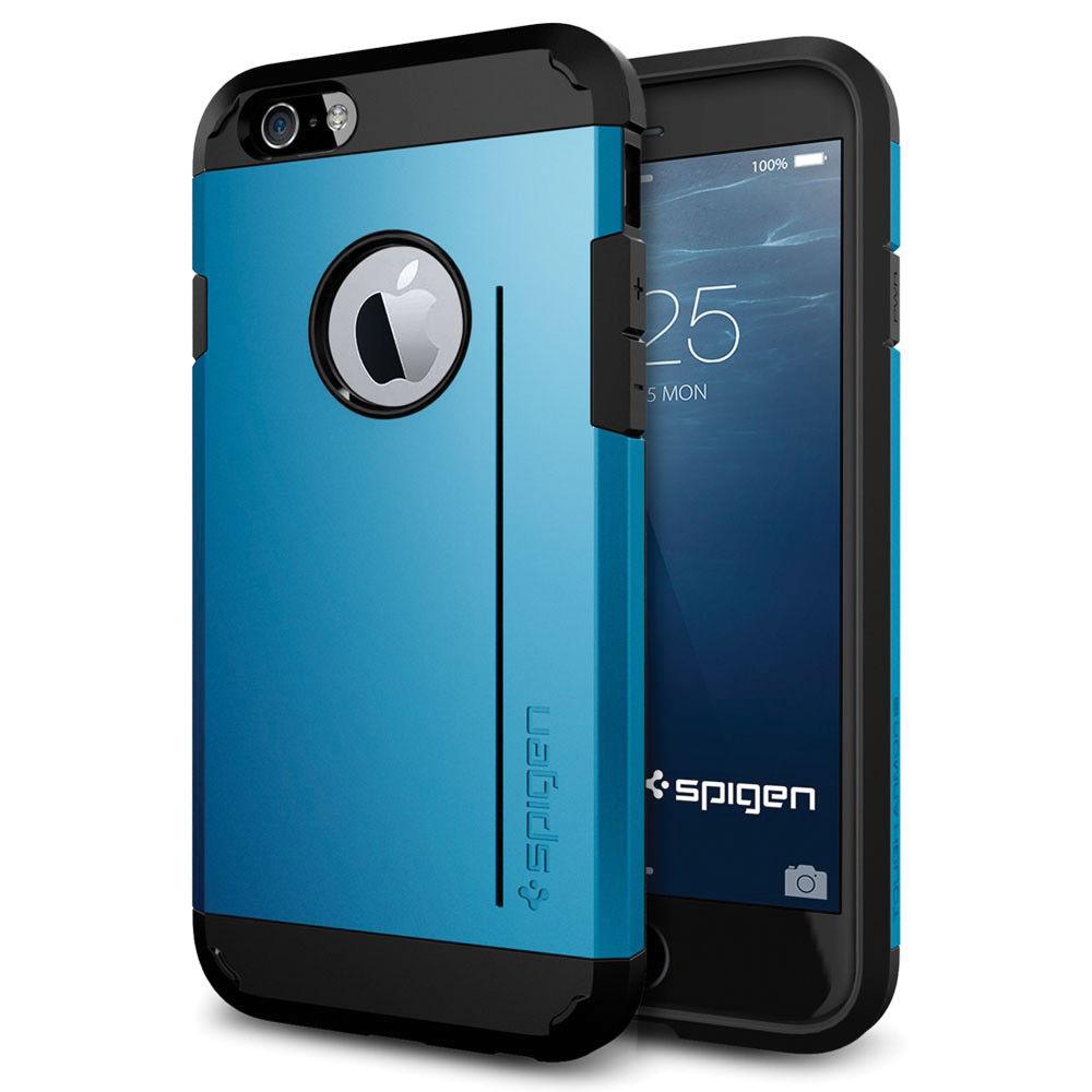 best service 30875 444cc Spigen Tough Armor S Case for iPhone 6/6s (Electric Blue)