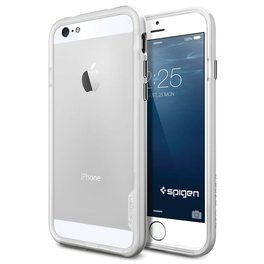 various colors bf211 e7a79 Spigen Neo Hybrid EX Case for iPhone 6 (Satin Silver)