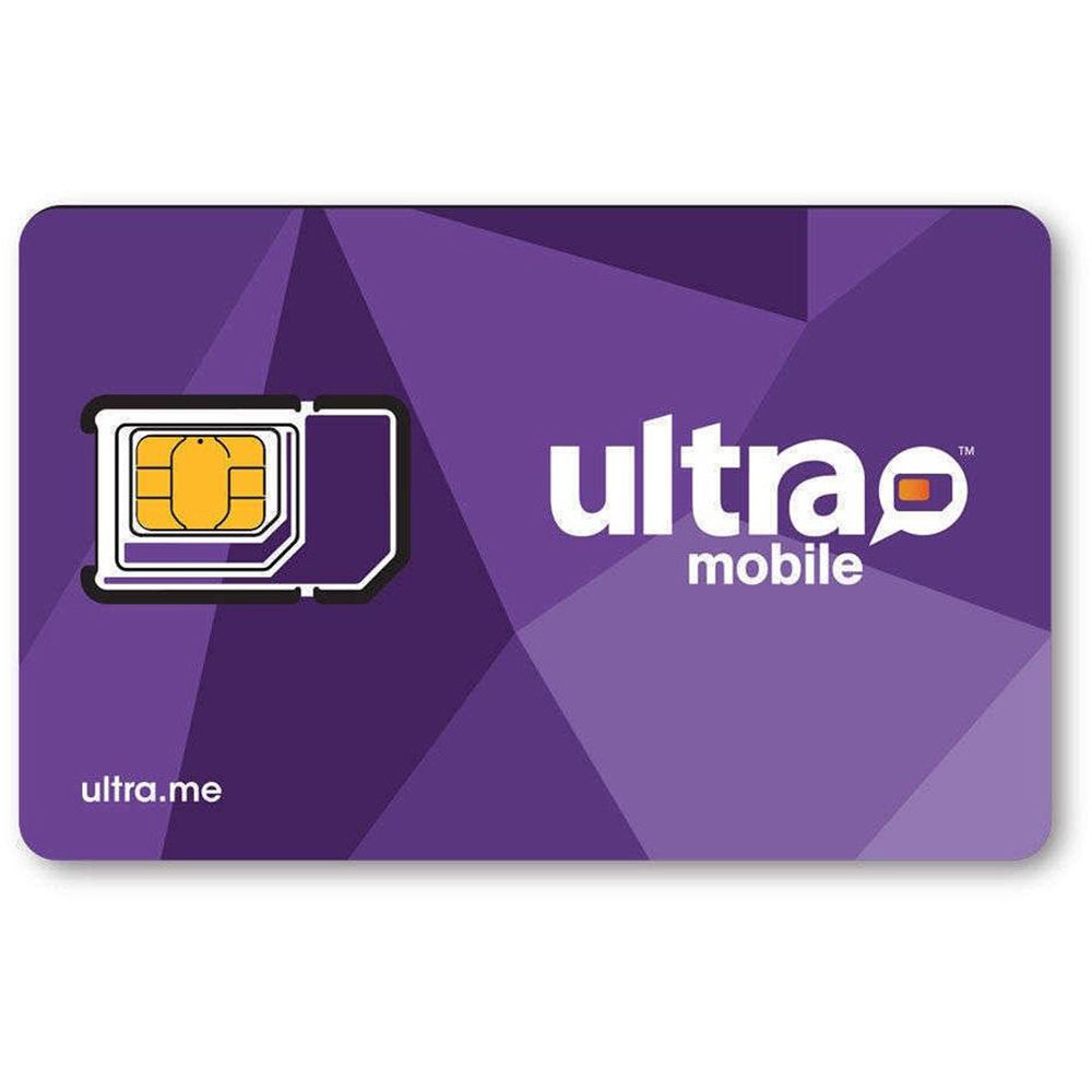 Ultra Mobile 3-Size SIM Card Starter Kit