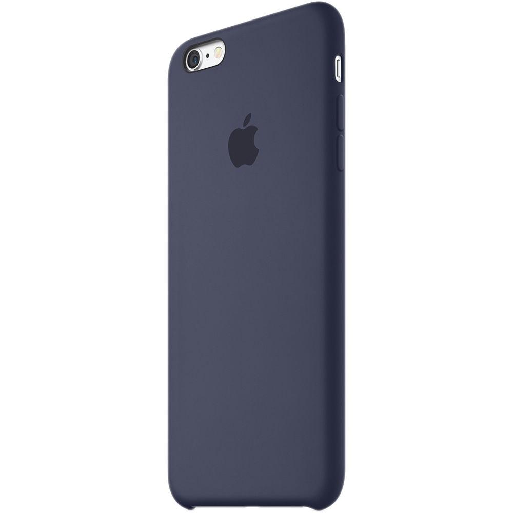 timeless design 77c3c 4936f Apple iPhone 6 Plus/6s Plus Silicone Case (Midnight Blue)