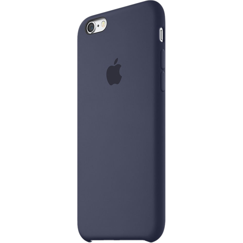 outlet store 6f370 a051b Apple iPhone 6/6s Silicone Case (Midnight Blue)