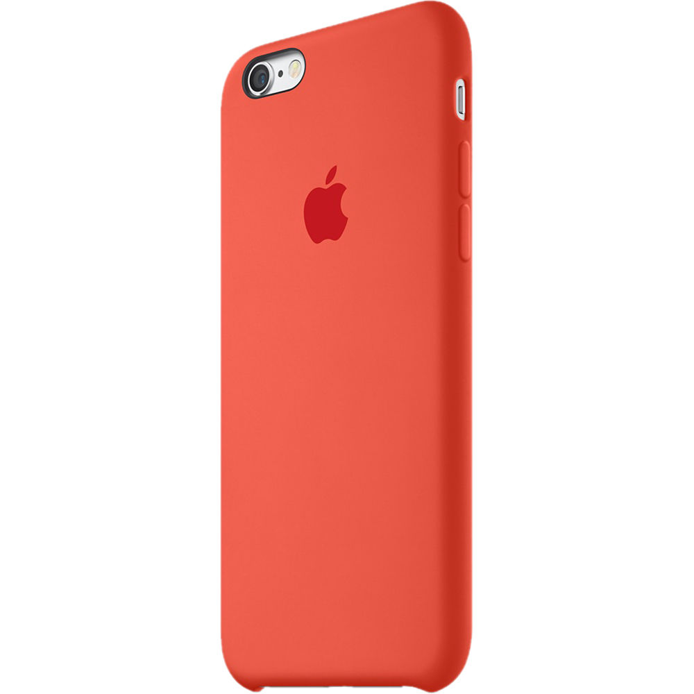sale retailer 38150 42bbe Apple iPhone 6/6s Silicone Case (Orange)
