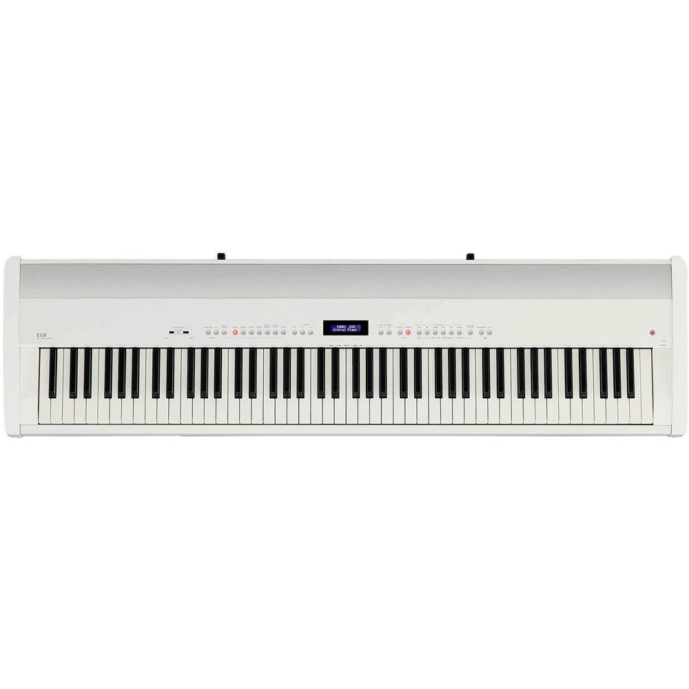 Kawai ES8 88-Key Digital Piano with Built-In Speakers (Gloss Black)