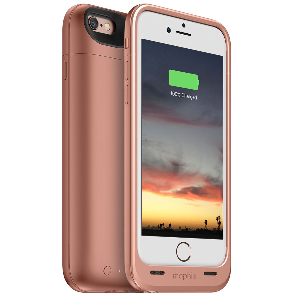 size 40 8f4aa 8b183 mophie juice pack air for iPhone 6/6s (Rose Gold)