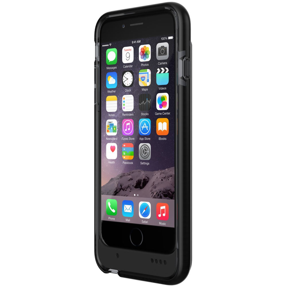 differently e628e 5a418 Tech21 Evo Endurance Battery Case for iPhone 6/6s (Black)