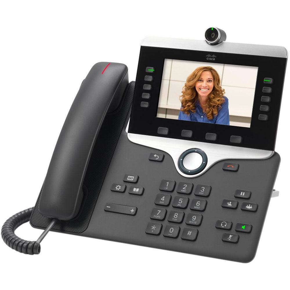 Cisco 8845 IP Phone (Charcoal)