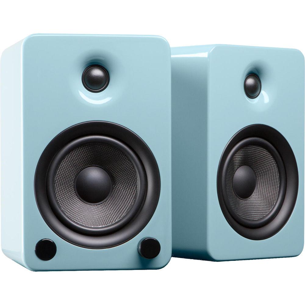 Kanto Living YU5 Powered Speakers (Pair, Gloss Teal)
