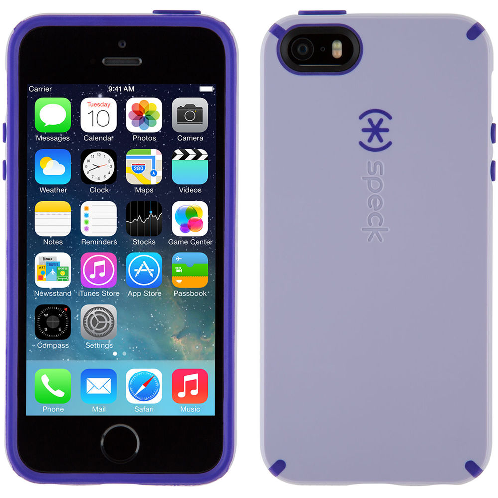 the latest ab0c6 3f6e4 Speck CandyShell Case for iPhone 5/5s/SE (Heather Purple/Ultraviolet Purple)