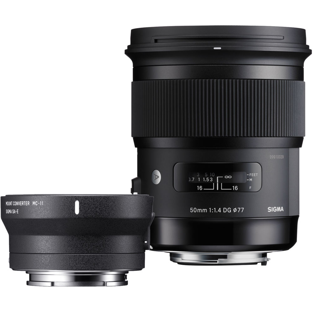 Sigma 50mm F 1 4 Dg Hsm Art Lens For Canon Ef And Mc 11 Zi954